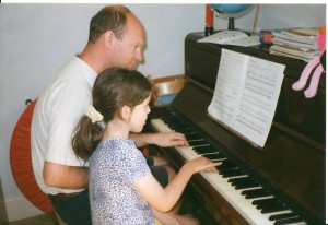 1999 Tim with Hannah McInerny